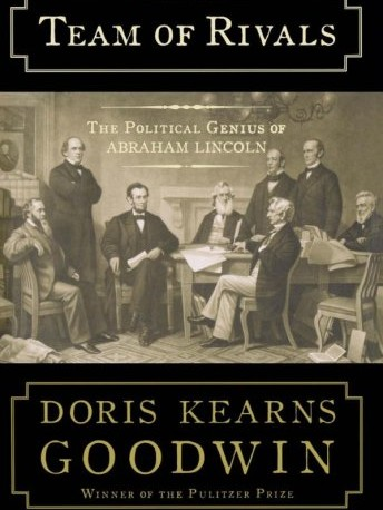Book cover for Team of Rivals: The Political Genius of Abraham Lincoln