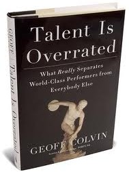 book cover for Talent is Overrated