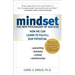 Mindset: The New Psychology of Success book cover