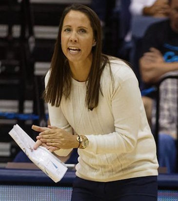 Brigham Young University Women's Volleyball Coach Heather Olmstead