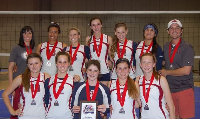 Tribe Volleyball Club in Florida.